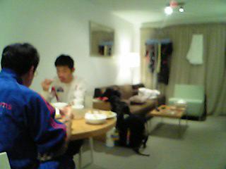 [写真]合宿での食事