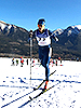 [写真]新田佳浩選手のスプリントクラシカル予選