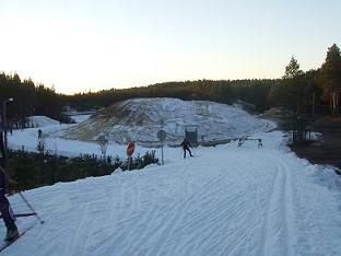 [写真]初スキー