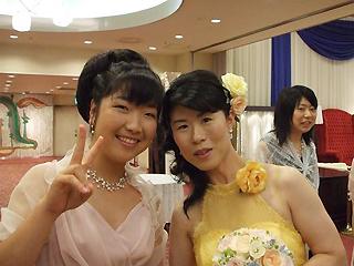 [写真]太田渉子と井口深雪さん